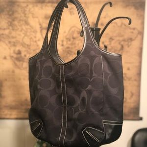 Coach Large Ergo Signature Tote Bag